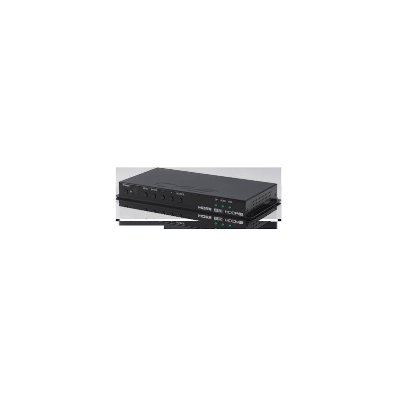 Selector Escalador 4K HDMI - VGA - Display Port con Control IP