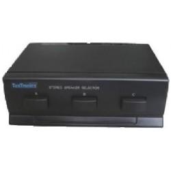 Selector 3 pares de altavoces estéreo