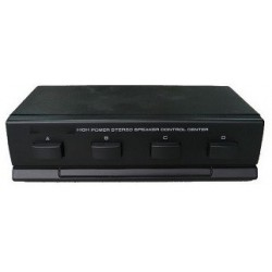 Selector 4 pares de altavoces estéreo