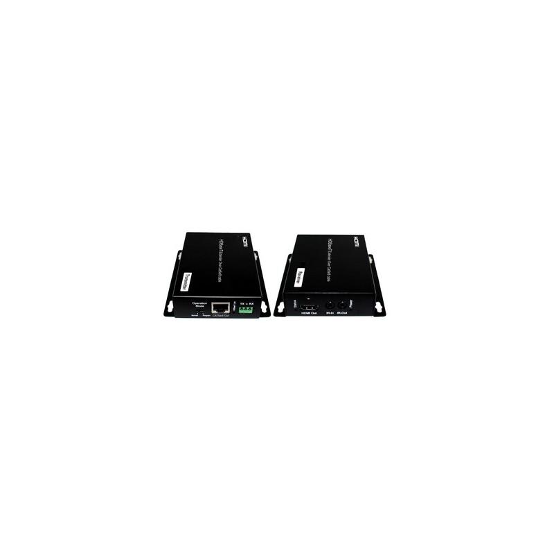 Kit Transmisor / Receptor  Señal HDMI - 40m. sobre CAT5/6