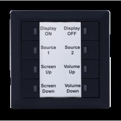 Teclado de Control de superficie para sistemas AV