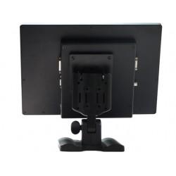 """Monitor Táctil Resistivo de 12.1"""" Negro/Gris"""