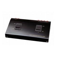 Selector 2 pares de altavoces estéreo