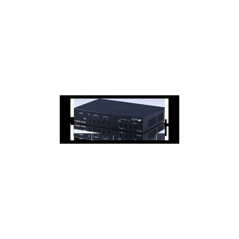 Selector Multiformato HDMI - VGA - Display Port con Control IP (60 metros)