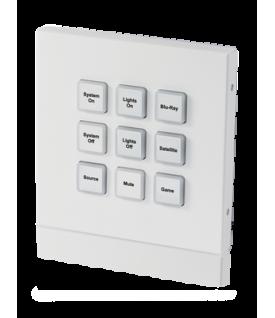 Teclado de Control IP (empotrable) 9 botones