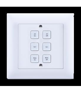 Teclado de Control IP (empotrable) 6 Botones