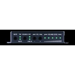 Amplificador de Audio de 2 canales 20W con entrada óptica Toslink