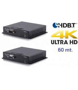 Extensor 4K HDMI - PoC - 60 mts.