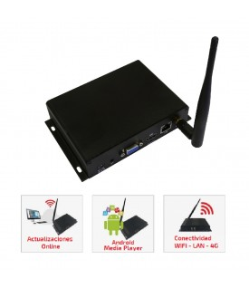 Reproductor Multimedia - WiFi/LAN Cloud