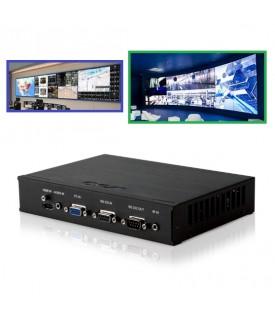 Controlador VideoWall (de 2X2 hasta 5X5 - 25 pantallas)