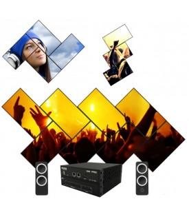 Controlador VideoWall Creativo HDMI 4KUHD