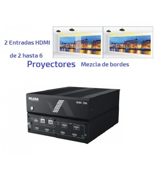 Controlador VideoWall para Proyectores HDMI - PiP