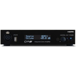Multiroom Amplificador de Audio de 2 zonas HDMI Control IP