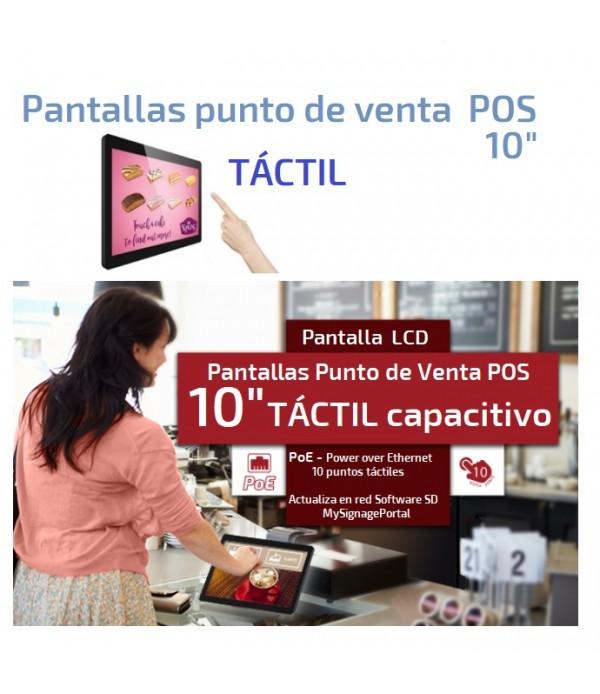 """Pantalla Táctil POS 10"""" (Punto de Venta)"""
