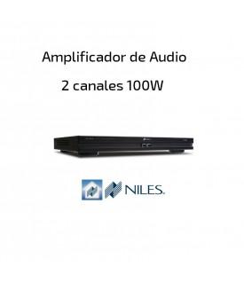 Amplificador Audio 2 canales 100W NILES
