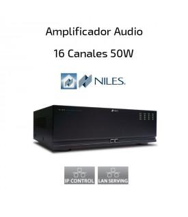 Amplificador Audio 16 canales 50W NILE