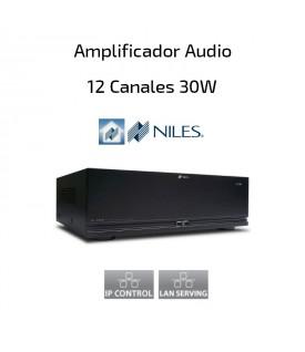 Amplificador de Audio 12 canales por 30W NILES