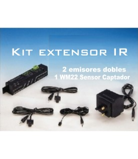 KIT repetidor IR Roomlink