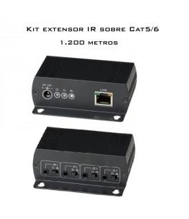 Extensor IR 1.200 m. sobre Cat5/6e