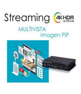 Transmisor Streaming Multivista y imagen PiP