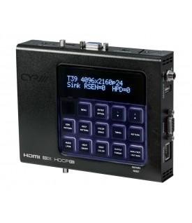 Analizador y generador de patrones HDMI avanzado XA-4 (4K, HDCP2.2, HDMI2.0)