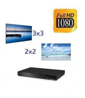 Controlador VideoWall (2x2-3x3) HDMI - Control IP