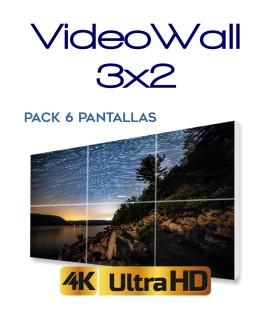 Pack VideoWall 6 pantallas 3x2|6x1