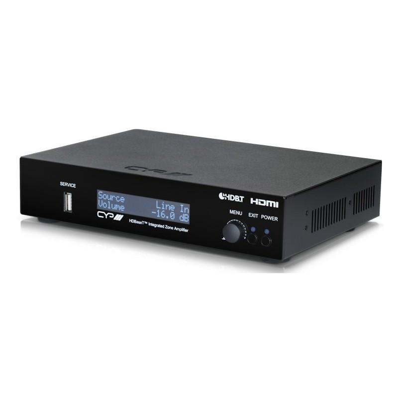 Multiroom Amplificador de Audio de 2 zonas con HDBaseT - HDMI Control IP