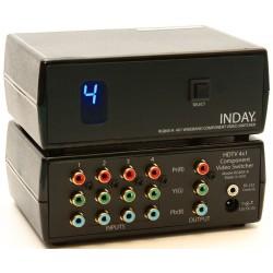 4x1 Selector video de banda ancha  (4 entradas y 1 salida)