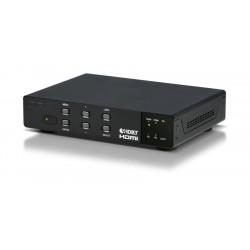 Selector Escalador HDBaseT - HDMI - VGA con Control IP, PoC