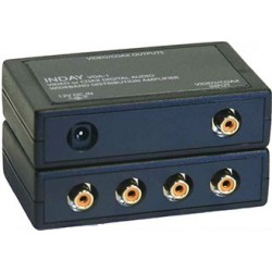 1x4 Splitter Audio Digital Coaxial