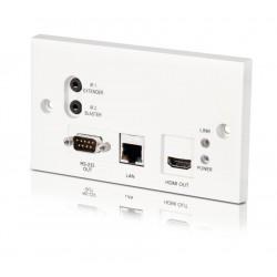 Extensor señal HDMI 100 mt. para pared HDBaseT  HDMI 1.4, HDCP 2.2, 4K, RS232, LAN, PoC