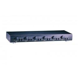 Conmutador 6 pares de altavoces con regulación de volumen