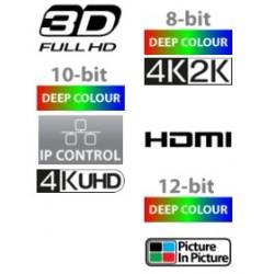 6x2 - Matriz HDMI 4KUHD con salida de audio , PiP y Control IP