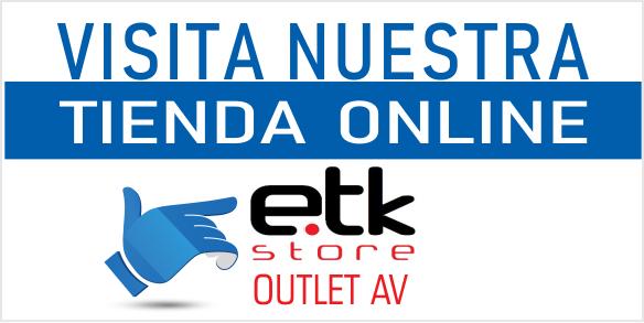 EUTIKES Tienda Online - ETK Store - Outlet de productos AV