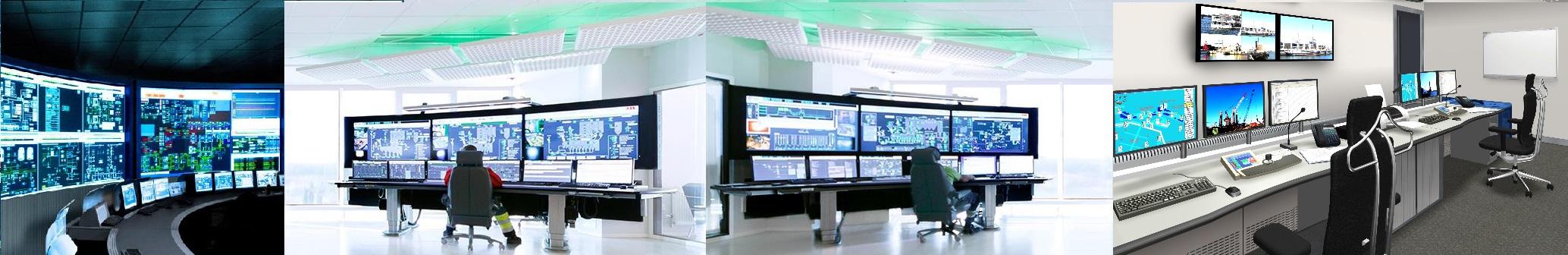 Conmutadores para salas de control, salas CCTV