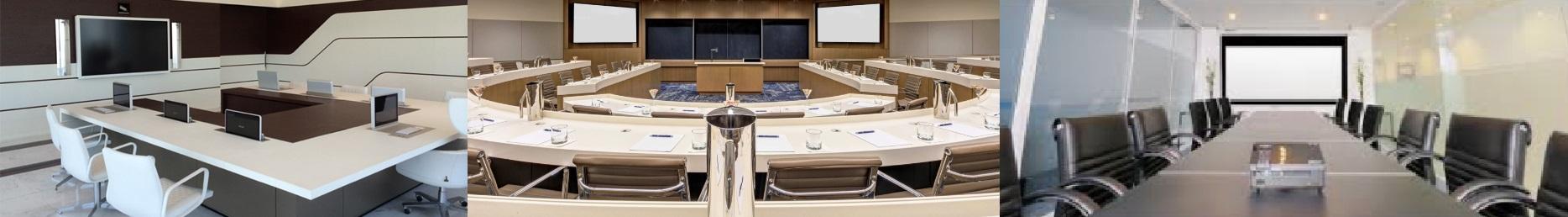 Sistemas multimedia para Salas de reuniones, conferencias y aulas
