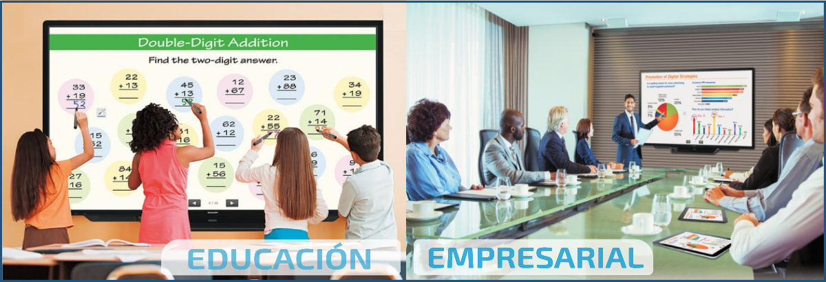 EUTIKES - Pantallas Interactivas y táctiles para educación y sala de reuniones