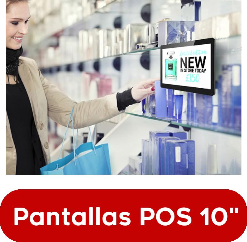 """EUTIKES - Pantallas POS de 10"""""""