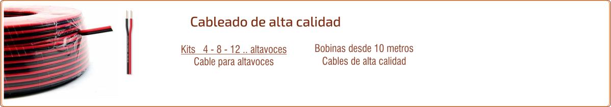 EUTIKES - Cables de audio para sonorización de negocios y cables