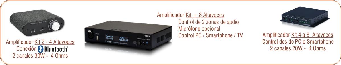 EUTIKES - Amplificadores de señal de audio para sonorización de espacios