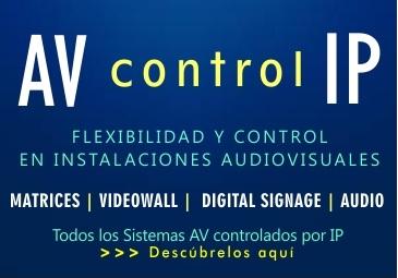 Sistemas AV con control IP