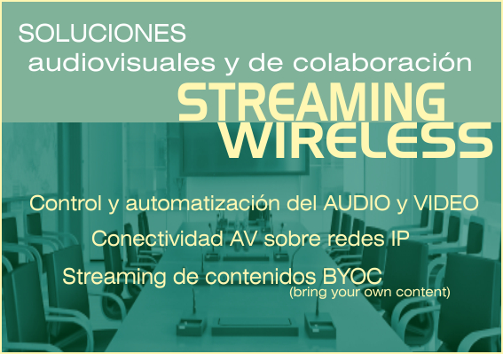 EUTIKES - Sistemas Audiovisuales de colaboración streaming y wireless