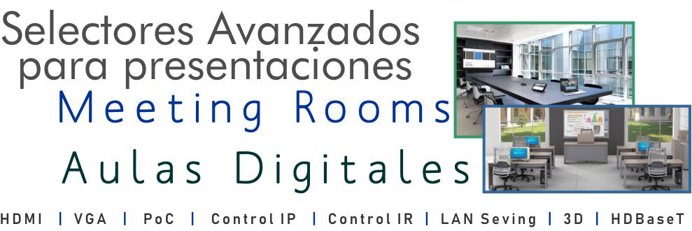 Sistemas para control de salas multimedia