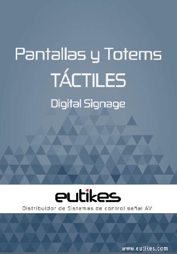 EUTIKES - Pantallas y Totems DS TÁCTILES