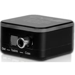 Conversor bidireccional audio digital coaxial / óptico